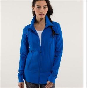 Lululemon Nice Asana Jacket In Piper Blue